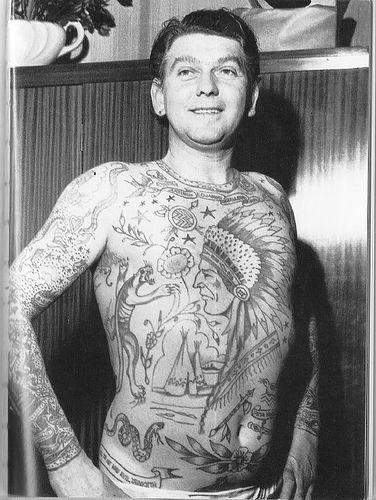 Retro tatuaże - HCfor - Brutalne Oblicze Świata