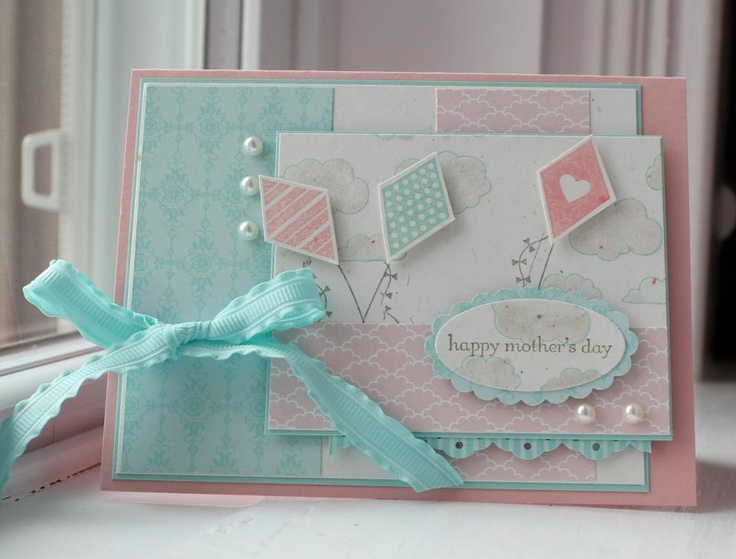 Mother S Day Card Idea Stampin Up Homemade Cards Pinterest Mothers Mother S Day And