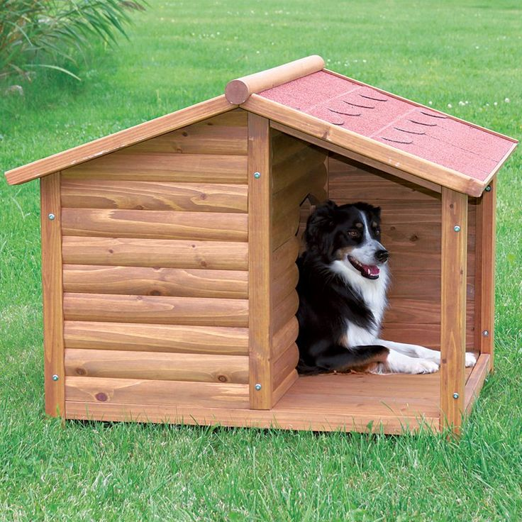 Have to have it. TRIXIE Rustic Dog House - $184.99 @hayneedle