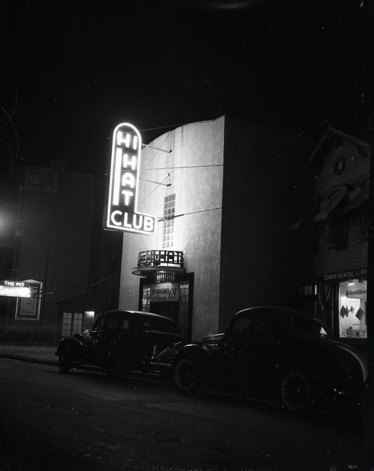 The Hi-Hat Club, Rush Street, 1947, Chicago Always 69 degrees.