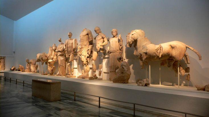 tempio di zeus atene -Archaeological Museum at Ancient Olympia: Statue frontone Tempio di Zeus Cerca con Google