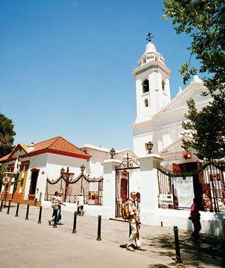 buenos aires Iglesia del Pilar Barrio de Recoleta  Ciudad de buenos aires Argentina