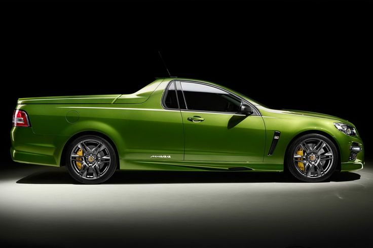 New Holden HSV GTS Maloo is Mad; Has 577 HP  I love this ute... I dont think it would go well as a farm car tho... Haha although my old boss used to use one like this for a farm car...
