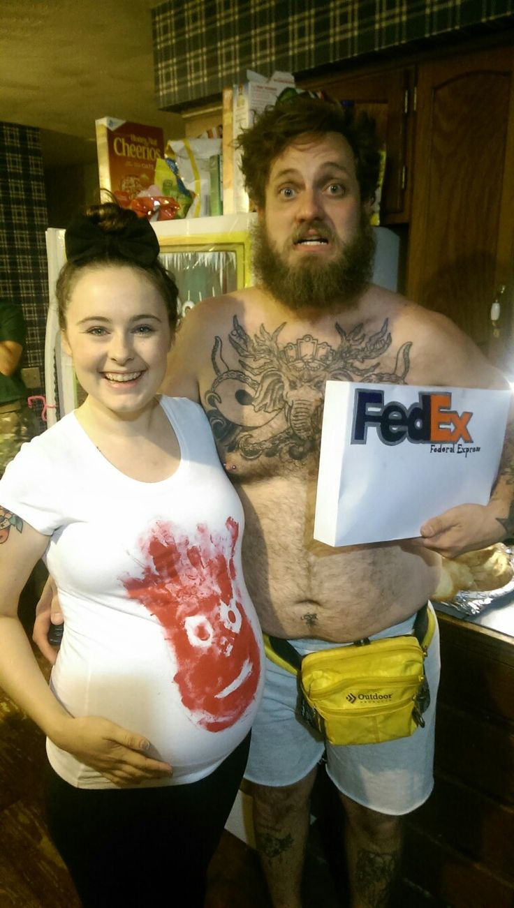 pregnant couple halloween costume - Pregnant Halloween Couples Costumes