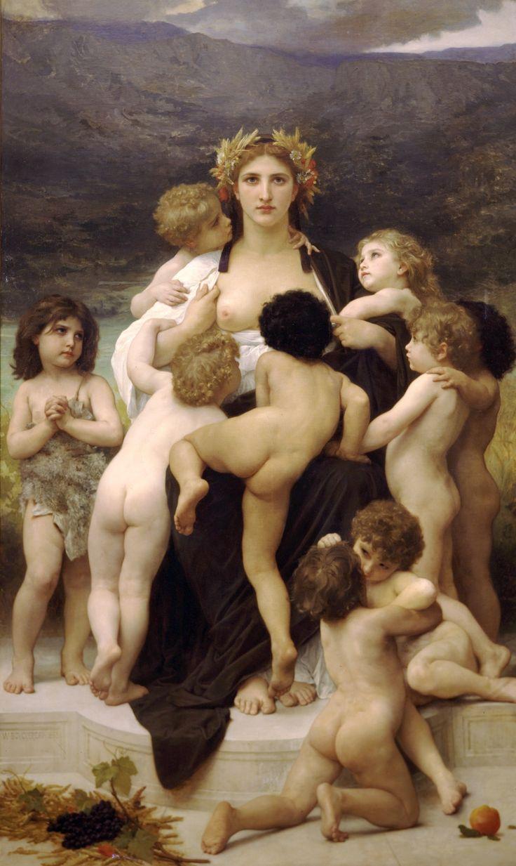 William-Adolphe Bouguereau (1825-1905) - The Motherland (1883)