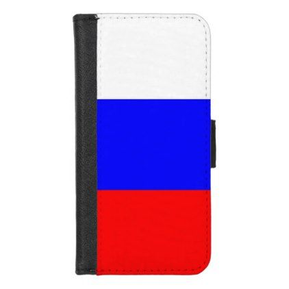 iPhone 7/8 Wallet Case with flag of Russia - stylish gifts unique cool diy customize