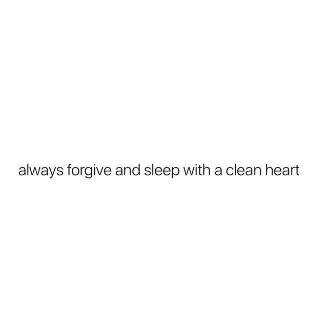 """""""Vergib immer und schlafe mit reinem Herzen."""" – #d…"""