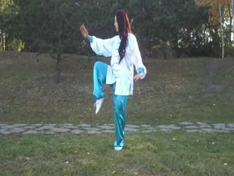#Yang Tai Chi 40-Form Dr. Pauline Bao is so elegant to watch. Enjoy! www.rx4nails.com