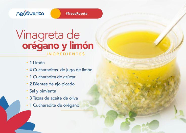 ¡Fue muy difícil elegir! el orégano fue el elegido para ser nuestro #IngredientedelMes  >>>1. Corta el limón  en rodajas y luego córtalo en pequeños trozos, descartando las semillas. 2. Coloca el limón picado y el resto de ingredientes (menos el orégano) en un recipiente y revuelve. 3. Corta el orégano y agrégalo a la mezcla antes de servir. ¡Listo!  #NovaTrivia