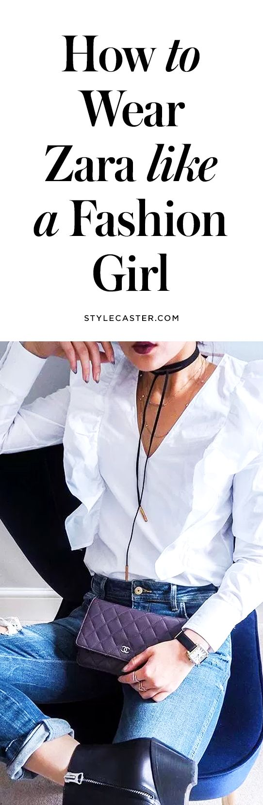 23 Cool Zara Blogger Outfit Ideas for 2017   How to wear Zara like a Street Style Star... @stylecaster