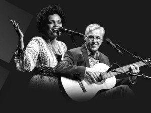 Teresa Cristina e Caetano Veloso se apresentam no Vivo Rio