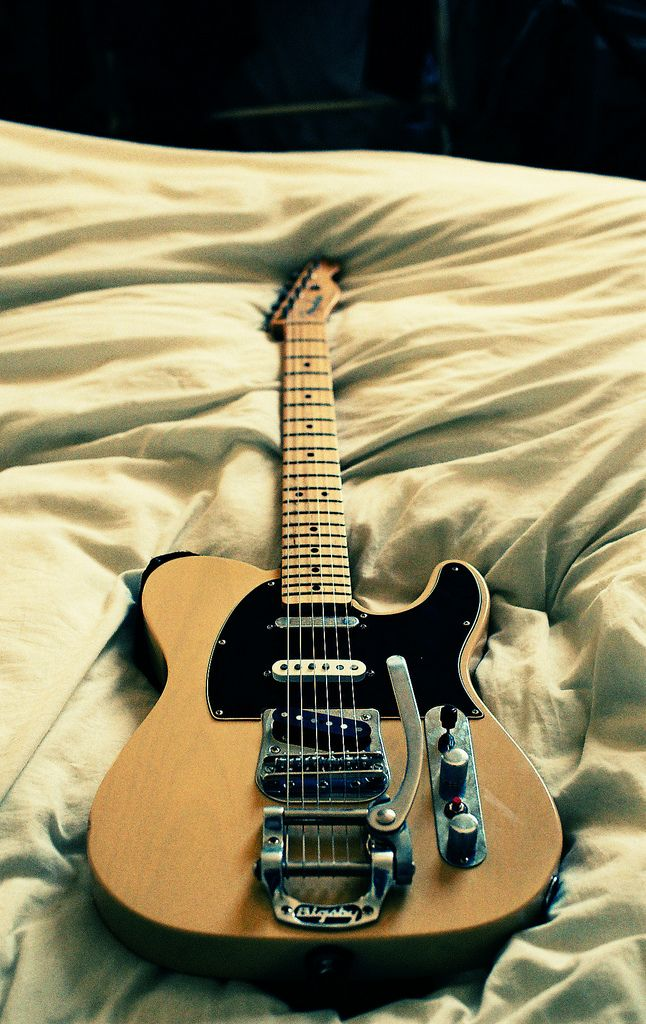 Telecaster with Bigsby. Make it a thinline with humbuckers nd im a happy man