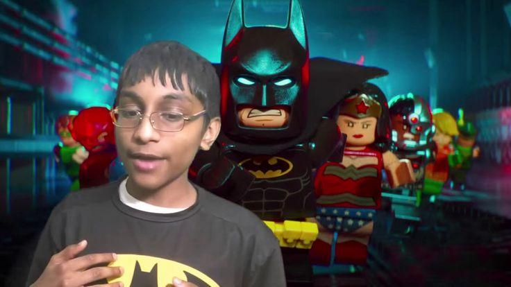 Film Review: The LEGO Batman Movie by KIDS FIRST! Film Critic Arjun N. #KIDSFIRST! #LEGOBatman