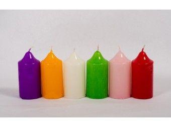 Lumanari cilindrice colorate, super simpatice