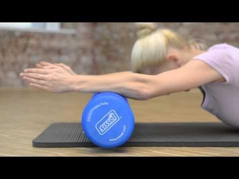 Sissel® Roller Pro - pěnový válec na masáž a cvičení Pilates (90x15cm) :: Masérské stoly | Masážní lehátka
