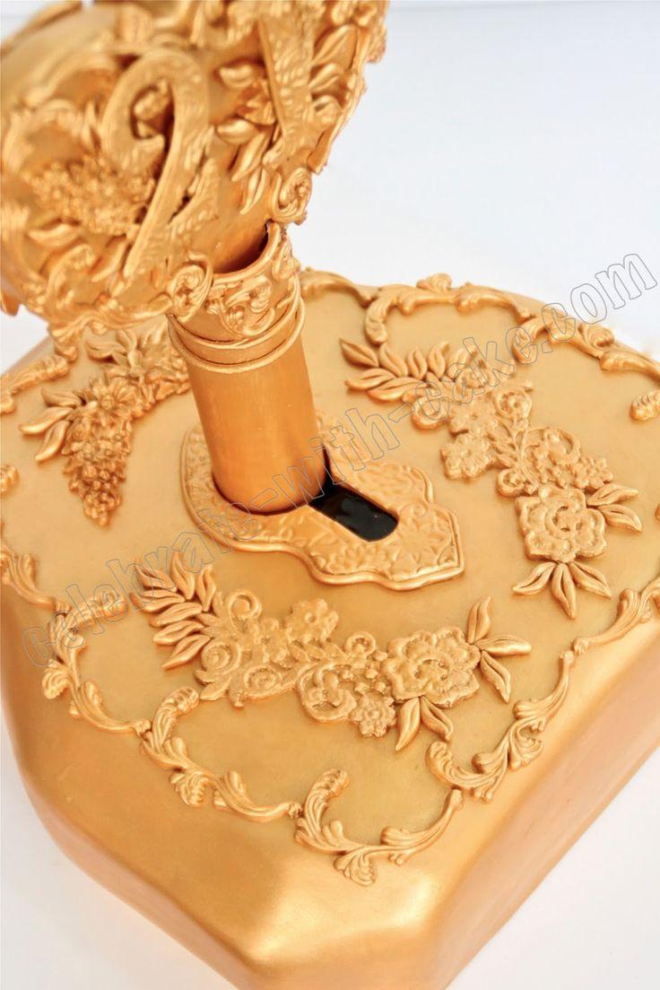 Celebrate With Cake 21st Birthday Vintage Lock Amp Key