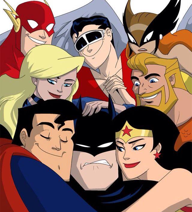 Haaahaaaaahaaaaa! Sometimes best not to be Batman!