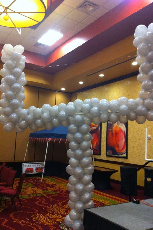 Football Goal Balloon Sculpture | sports themed carnival ...