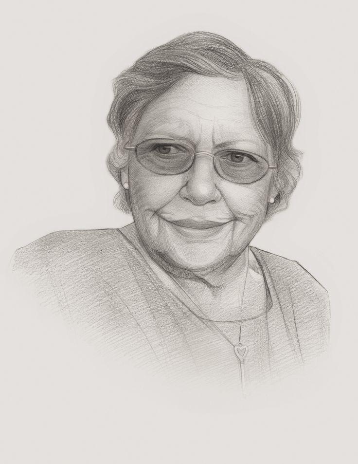 #Pencil Sketch #Mum #Family #Portraits