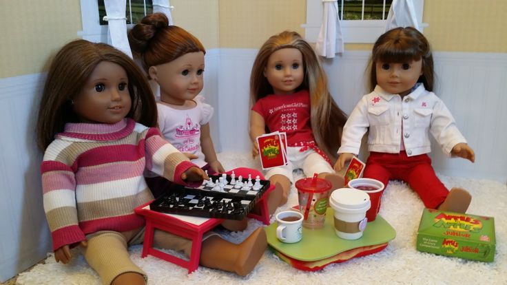 American Girl Doll Games and Drinks