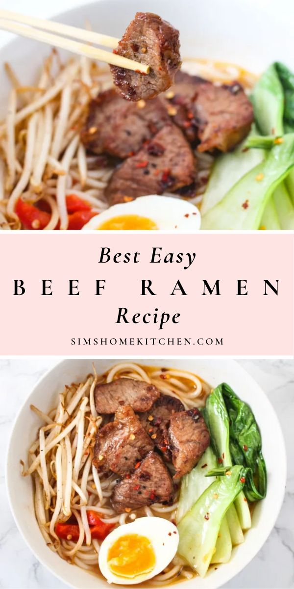 This is probably the best, easy beef ramen recipe you'll find. Follow these steps and recreate your favorite restaurant…