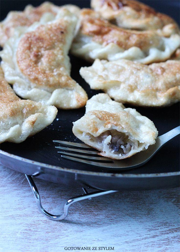 dumplings with cabbage and mushrooms | gotowanie ze stylem
