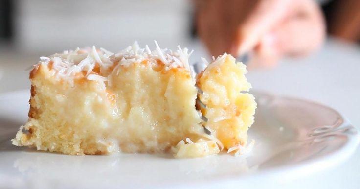 Ce dessert à la noix de coco est tout simplement renversant!