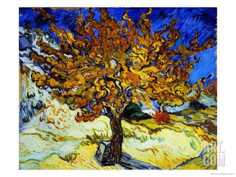 'Mûrier à Saint-Rémy, 1889' par Vincent van Gogh
