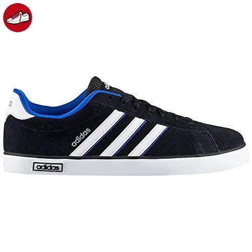 buy popular f0869 289b0 ... adidas Herren Derby Vulc Skaterschuhe, Schwarz   Weiß   Silber (Negbas    Ftwbla