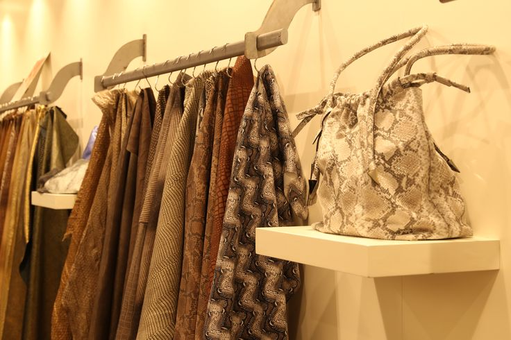 Exoticism at LINEAPELLE fair leather trends and colors ##fallwinter 2017-2018 edition at Rho Fiera Milano