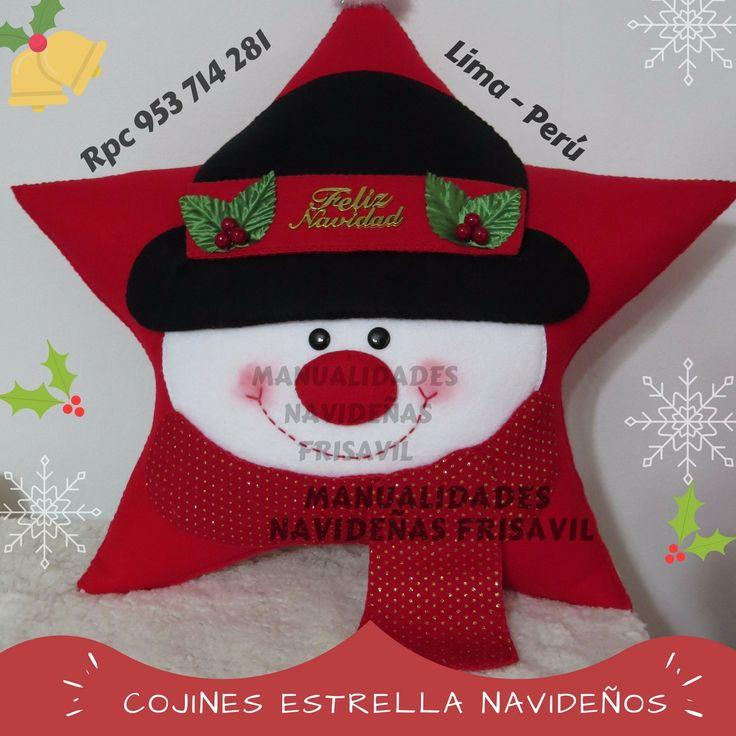 Cojines Estrella Frisavil