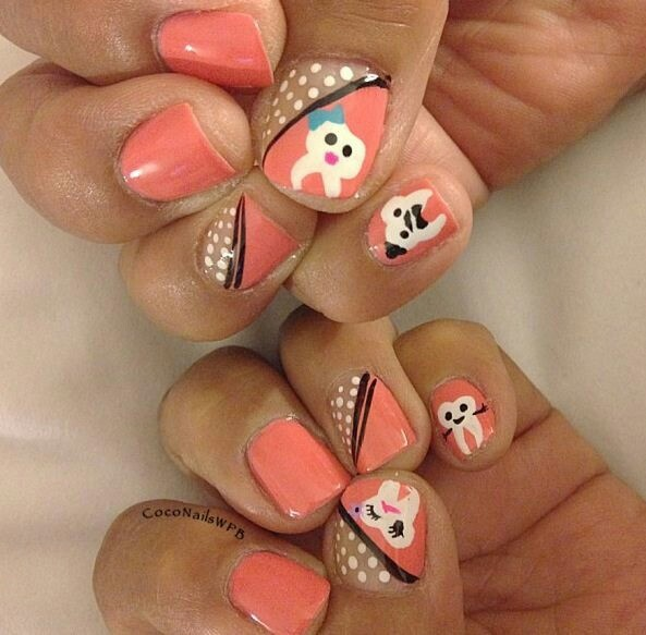 I would never do this but, dental hygiene nails!