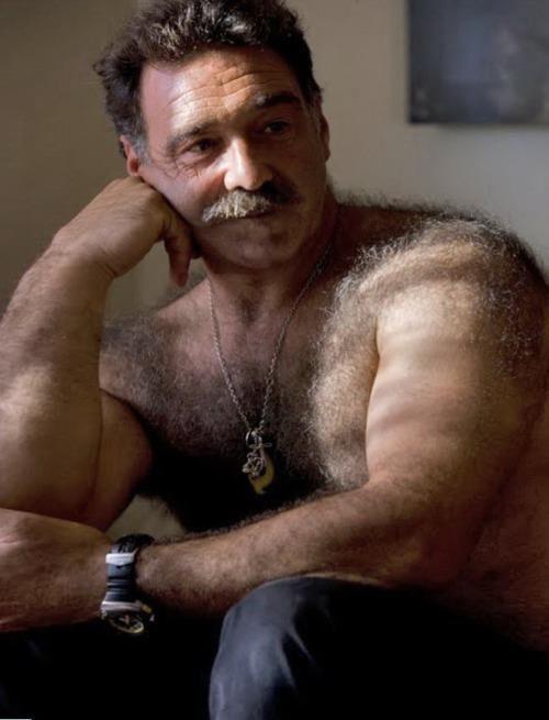Hairy Older Man 11