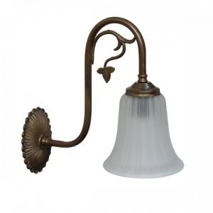 Mejores 125 imgenes de irish pub lighting en pinterest irlands manufactured in ireland this traditional brass wall light comes complete with ridged bell glass aloadofball Image collections