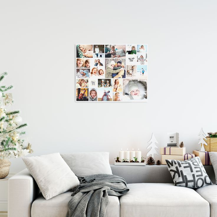 Cadeautip voor de Kerst: een persoonlijke fotocollage