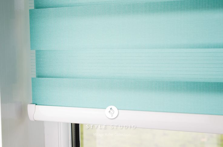 Style Studio Mirage Roller Blind in a close position