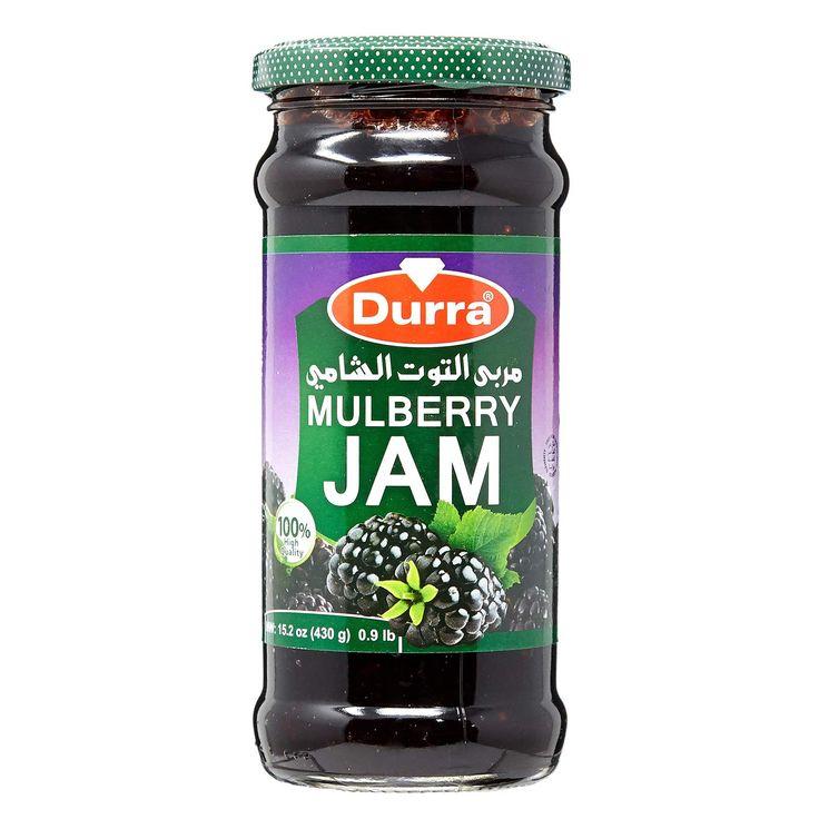 الدرة التوت جام 430 جم Durra Mulberry Jam 430 Gm تشحن بواسطة امازون امارات In 2020 Mulberry Jam Jam Mulberry