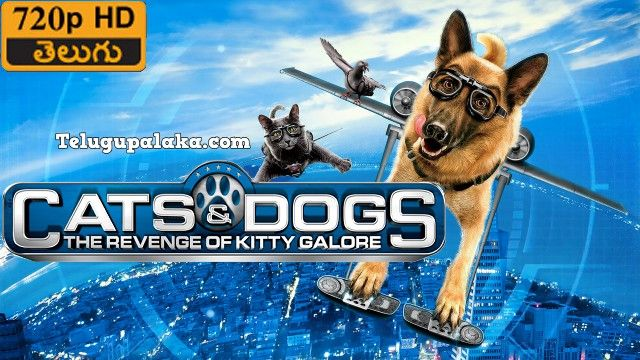 Cats Dogs The Revenge Of Kitty Galore 2010 720p Bdrip Multi Audio Telugu Dubbed Movie Dog Cat Revenge Kitty
