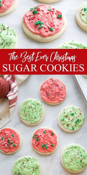 Serve up the best Christmas Sugar Cookies this year, with this no