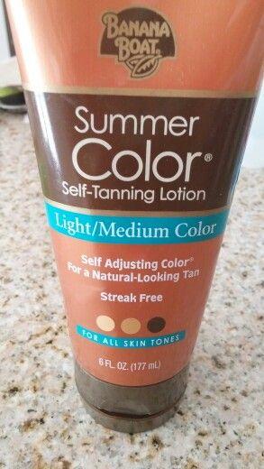 Best self tan lotion.