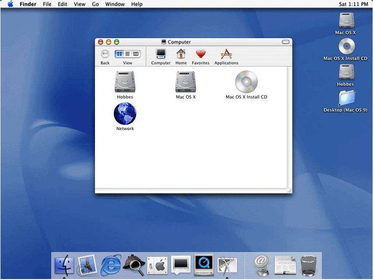 MacOS 2001