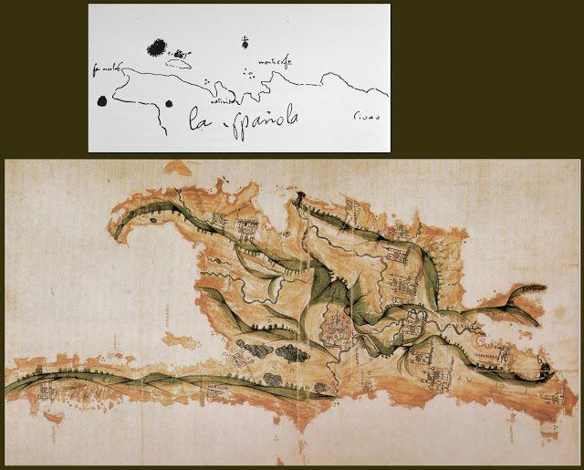El mapa de América. Descubrimiento y exploración   Valdeperrillos.com