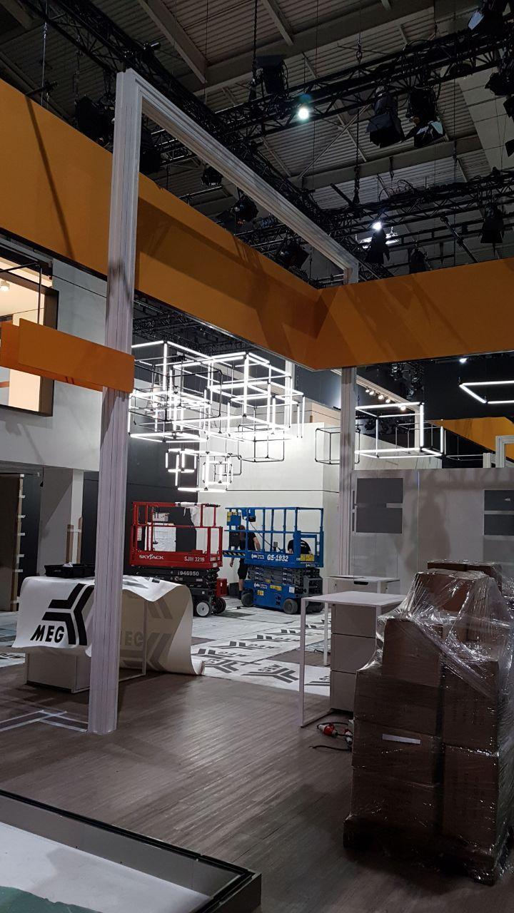 German Exhibition Stand Messe Licht