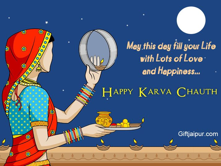 May the Moon Light, Flood Your Life with Happiness and Joy, Peace and Harmony. Happy Karwa Chauth