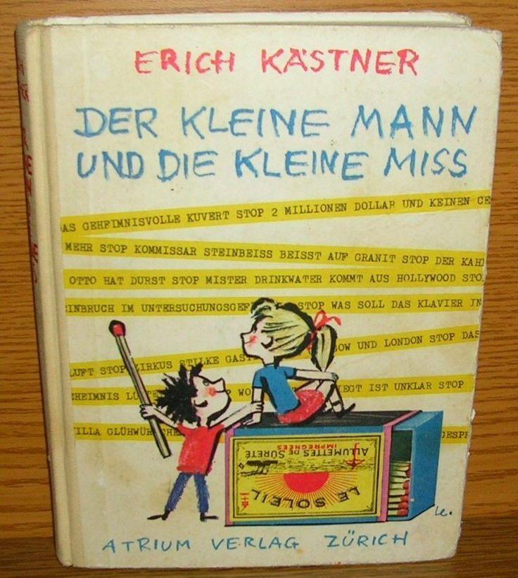 Kinderbuch Der kleine Mann und die kleine Miss Kästner ...