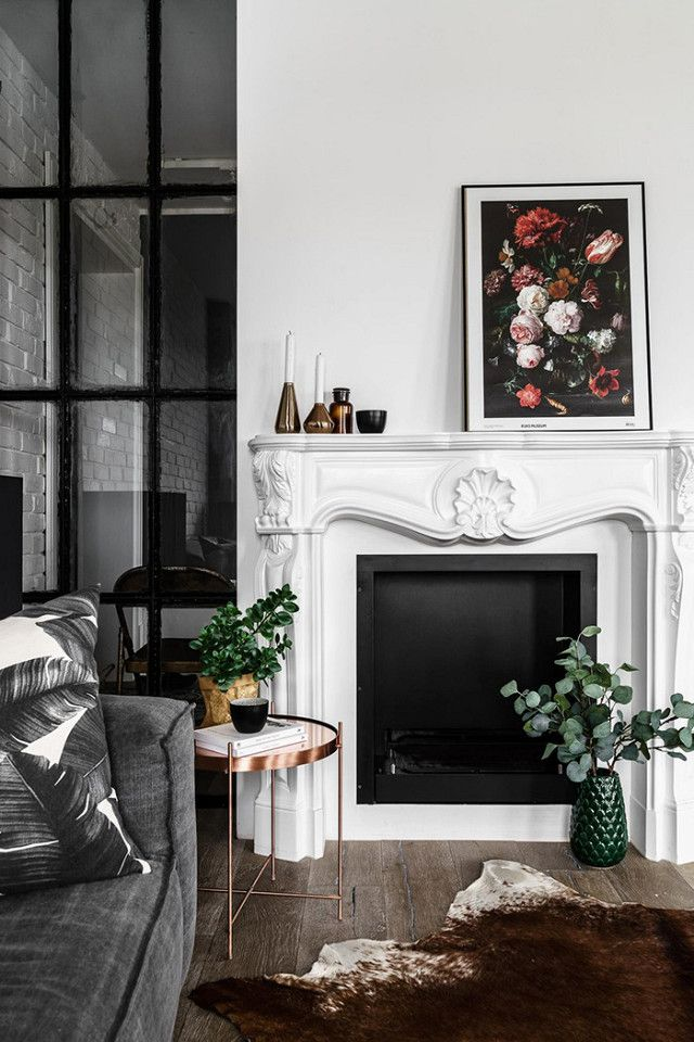 Perfekt How To Decorate A Chic Fireplace Mantel For The Holidays