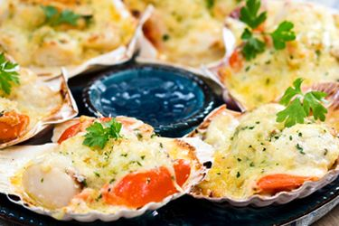 creamy broiled scallops mornay creamy broiled scallops mornay scallops ...
