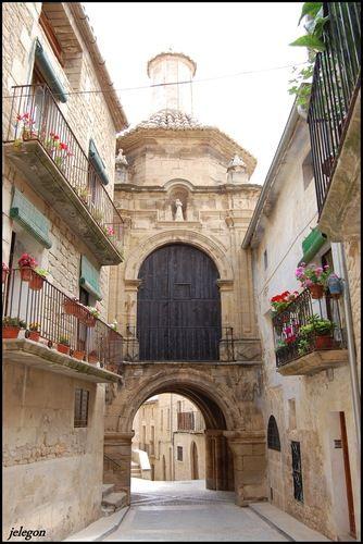 Arco de San Antonio -Calaceite- Teruel  Spain
