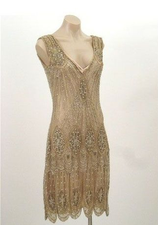 Flapper dress … Definitely my favorite era! I love the clothes, the hair, and the hats.