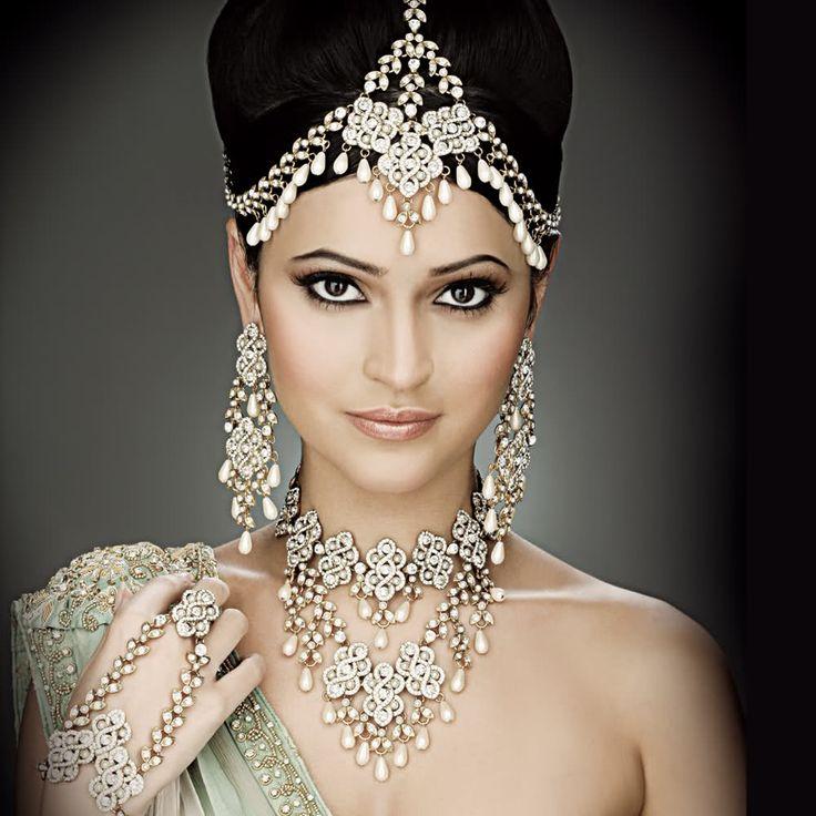 Indian style wedding jewelry